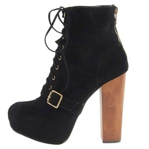 Steve Madden 'Carnby' Bootie, Black Suede